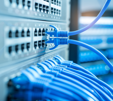 network cabling wires to boards